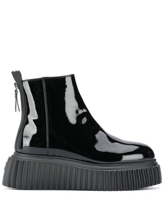 AGL Patent Ankle Boots - Farfetch
