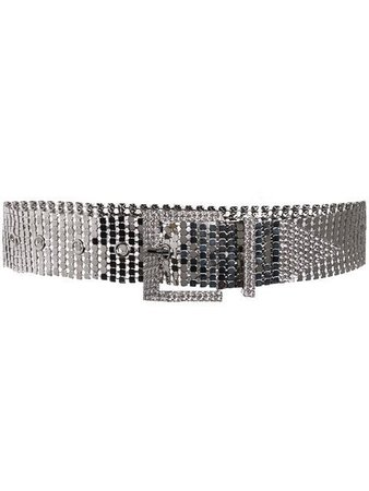 B-Low The Belt sequin crystal studded belt