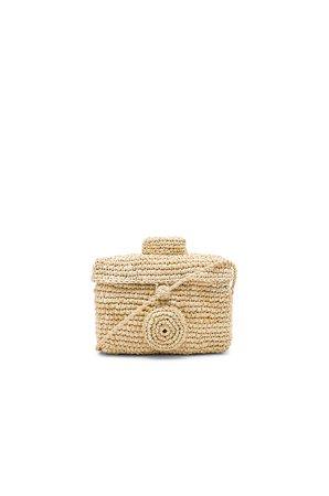 Sirikit Box Toquilla Bag