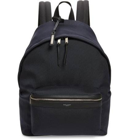 Saint Laurent Canvas Backpack | Nordstrom