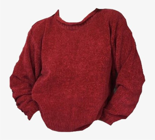 Sweater Red Fall Autumn Clothing Png Polyvore 80s 90s - Niche Meme Clothes Png Transparent PNG - 722x661 - Free Download on NicePNG