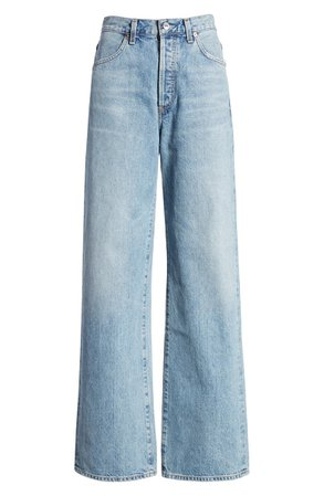 Citizens of Humanity Annina High Waist Trouser Jeans (Blue Mirage) | Nordstrom