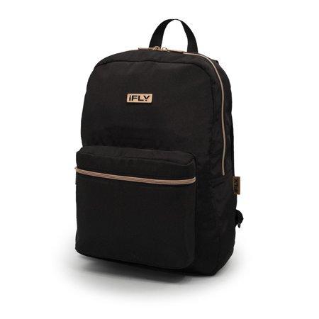 "iFLY - Backpack Heather 16"", Black - Walmart.com"