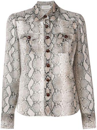 Zimmermann python print shirt