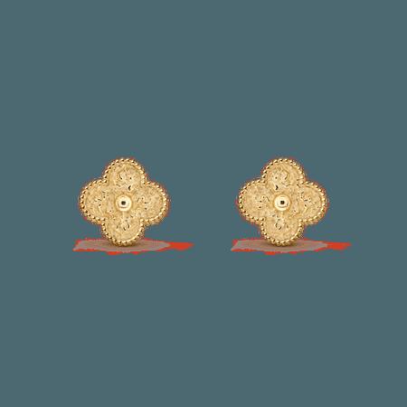 Magic Alhambra earrings - VCARO1II00- Van Cleef & Arpels