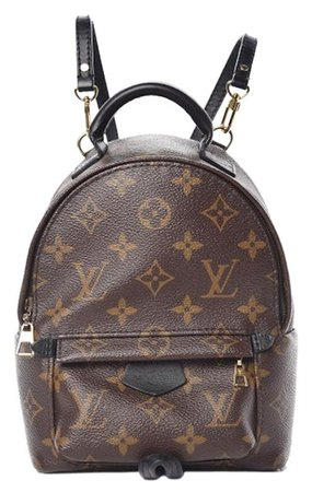 Louis Vuitton Palm Springs Monogram Mini Brown Canvas Backpack - Tradesy