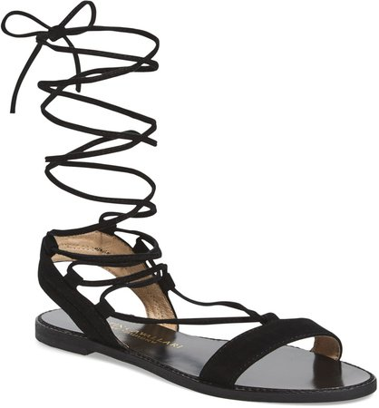 Brea Ankle Wrap Sandal