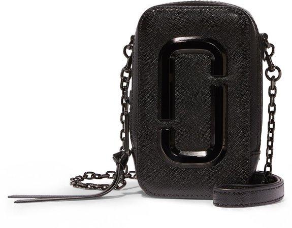 The Hot Shot Saffiano Leather Shoulder Bag