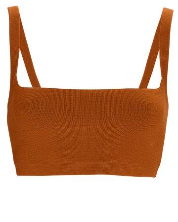 A.L.C. Sofie Knit Crop Top | INTERMIX®