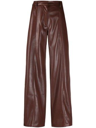 Nanushka Cleo faux leather trousers