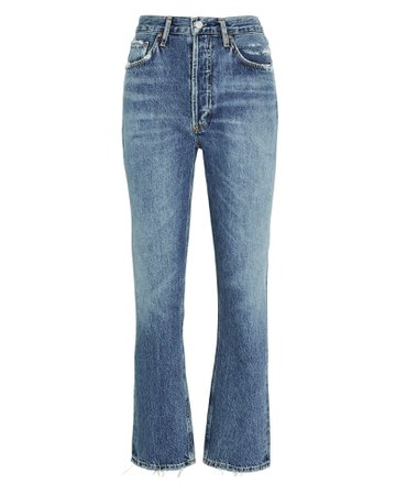 AGOLDE Riley Straight Crop Jeans   INTERMIX®