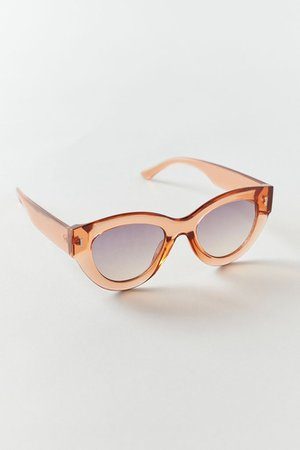 Kendall Chunky Cat-Eye Sunglasses | Urban Outfitters