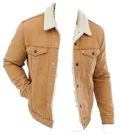 wheat jean jacket ✨