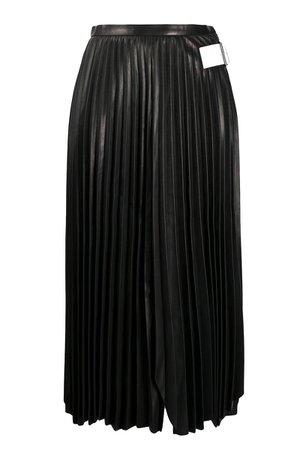 Helmut Lang Skirt In Black Leather