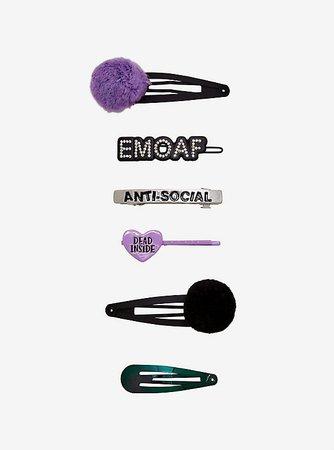 Emo Hair Clip Set