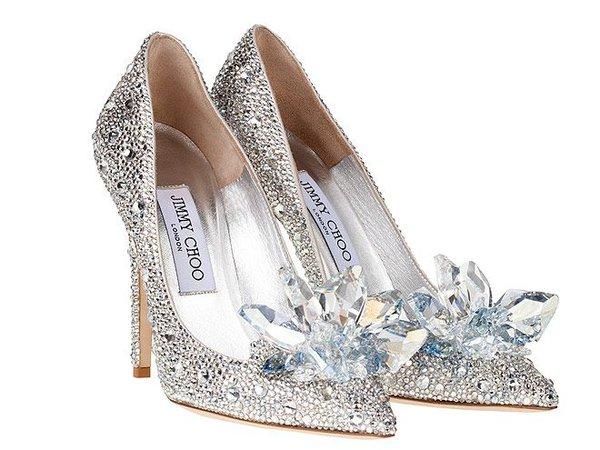 Jimmy Choo Cinderella pumps
