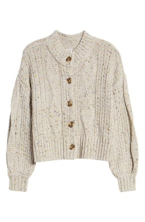 Madewell Maguire Cardigan stone
