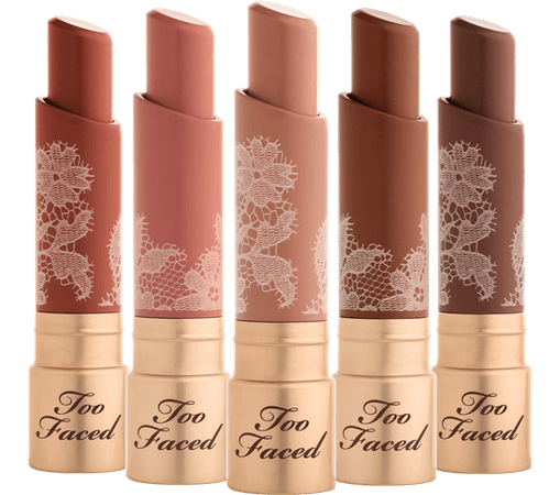 Nude Lipstick: Natural Nudes Coconut Butter Lipstick - Too Faced