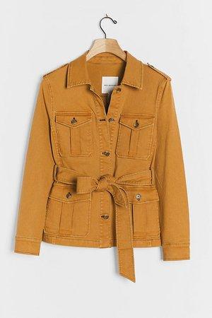 Amalia Utility Shirt Jacket | Anthropologie