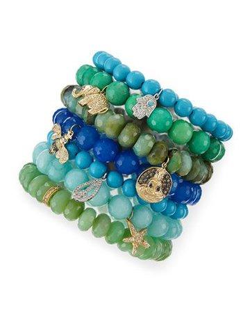 greensydney evan beaded bracelet - Google Search