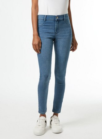 DP Petite Smoke Blue Frankie Denim Jeans