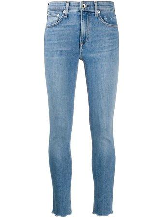 Rag & Bone Mid Rise Skinny Jeans - Farfetch
