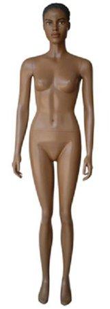 brown mannequin