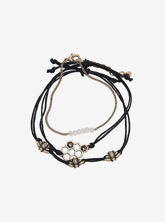 Honeycomb Bracelet Set