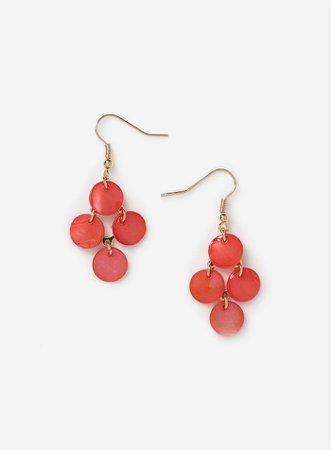 Chandelier Shell Earrings | Dorothy Perkins