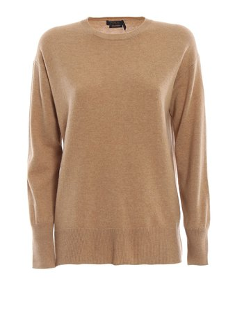 Polo Ralph Lauren Melange Merino Wool Over Sweater