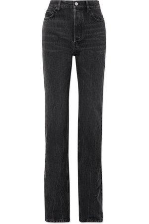 Balenciaga | High-rise straight-leg jeans | NET-A-PORTER.COM