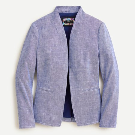 J.Crew: Going-out Blazer In Stretch Linen For Women