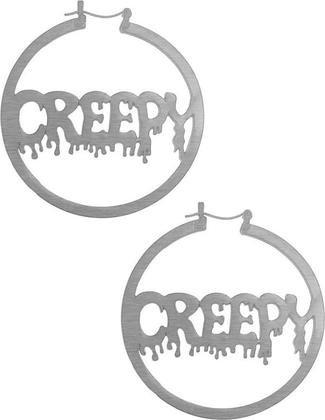 Creepy Hoop Earrings