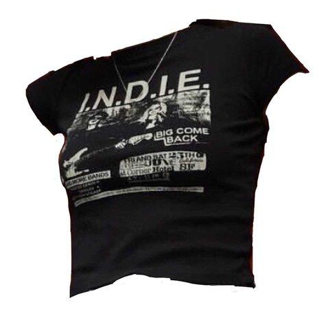 indie crop top