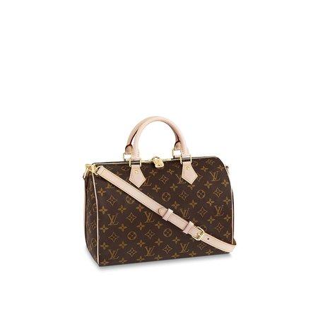 Speedy Bandoulière 30 Monogram - Handbags | LOUIS VUITTON ®