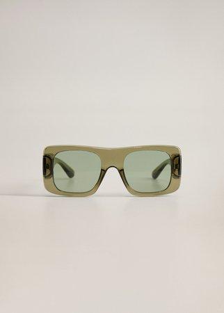 Geometric sunglasses - Women | Mango USA
