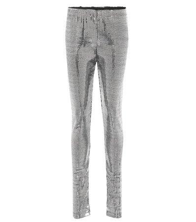 MM6 Maison Margiela - Sequined leggings | Mytheresa
