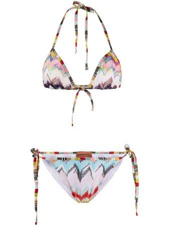 Missoni Mare Zigzag Crochet Bikini Set - Farfetch