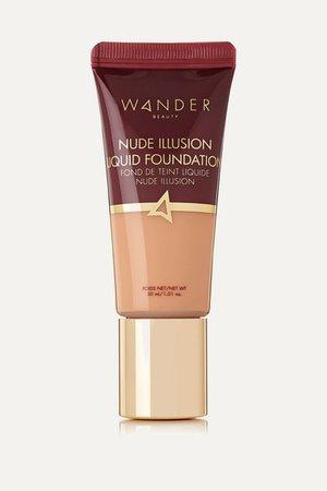 Nude Illusion Liquid Foundation - Light