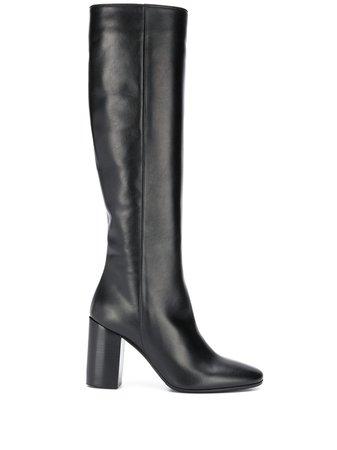 Société Anonyme block-heel Knee Boots - Farfetch