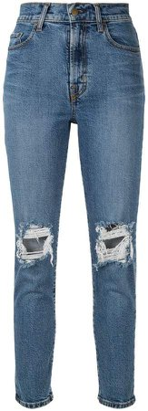 Frankie distressed jeans