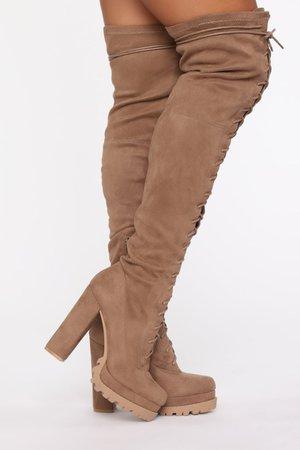 Ready Set Go Heeled Boots