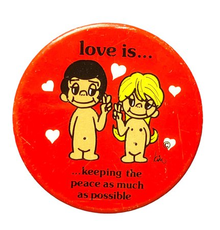 love is pin