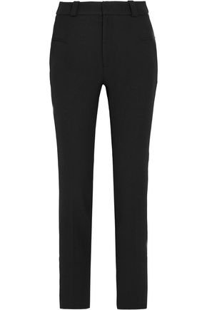 Lacerta crepe straight-leg pants | ROLAND MOURET | Sale up to 70% off | THE OUTNET