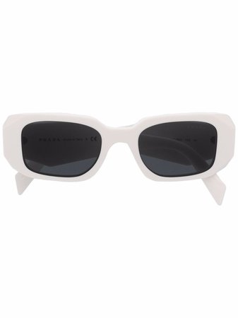 Prada Eyewear Symbole geometric-frame Sunglasses - Farfetch
