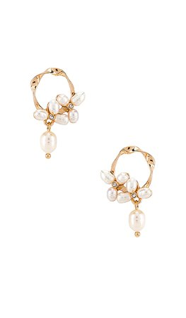 revolve 8 other reasons pearl drop earrings