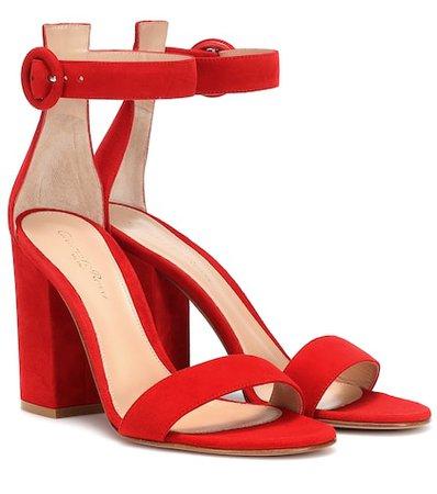 Versilia suede sandals