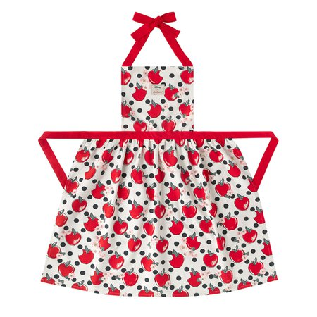 Snow White Apples and Spot Pinafore Apron | Aprons | CathKidston