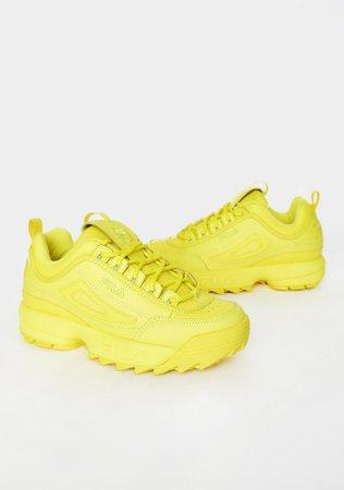 Fila Limelight Disruptor II Premium Sneakers | Dolls Kill