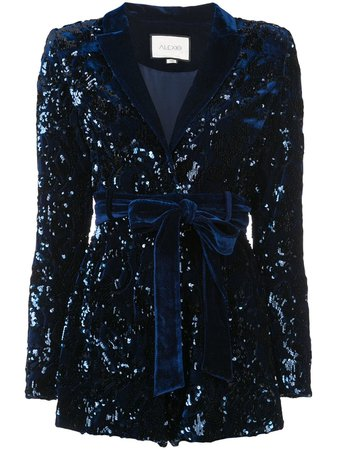 Alexis Sequin Embellished Playsuit - Farfetch